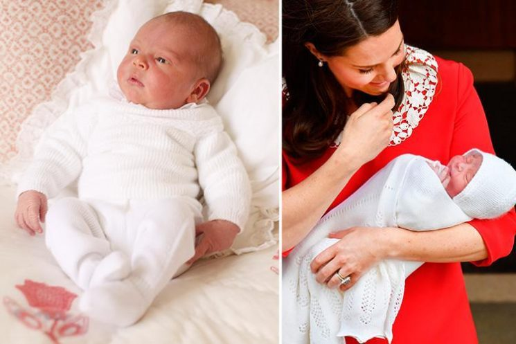 Prince Louis to be christened TODAY with Kate Middleton and Prince William joined by Royals at St James's Palace