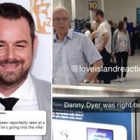 Love Island fans convinced Danny Dyer is going into the villa after picture of EastEnders star in an airport surfaces