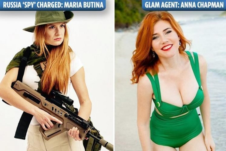 Stunning Russian 'spy' praised by Kremlin for upstaging glamour agent Anna Chapman 'after offering sex for access to US politicians'