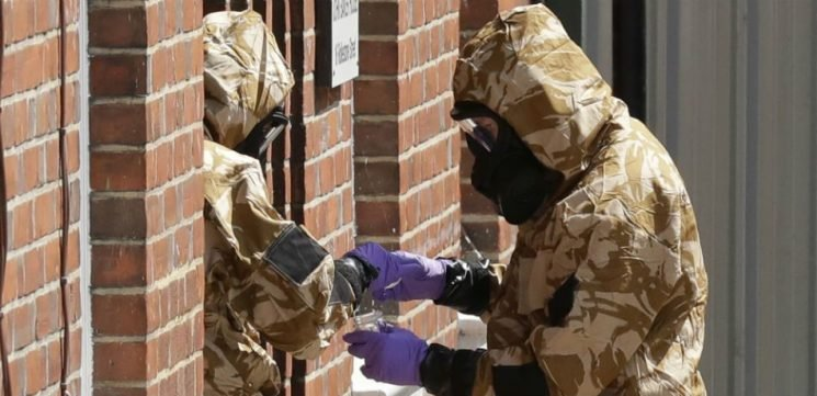 Police Discover Bottle Containing Novichok In Victim's Apartment