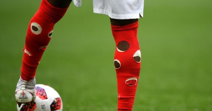 Why Danny Rose had holes in his socks as England took on Belgium