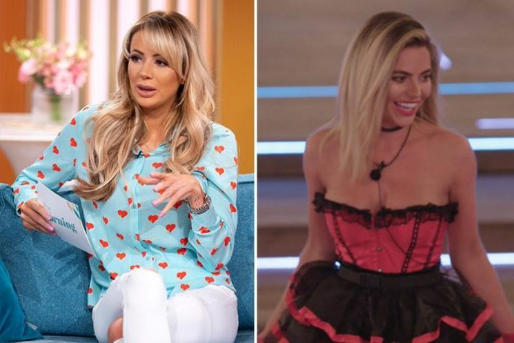 Olivia Attwood admits she was 'turned on' by Muggy Megan's lap dance as she questions results of Love Island's heart rate challenge