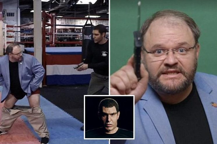 Sacha Baron Cohen tricks US lawmaker into shouting n-word and exposing bum to 'ward of terrorists in gay panic' in controversial show Who Is America?