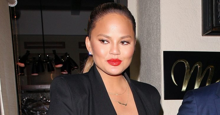 Chrissy Teigen Slams Trolls for Shaming Her Breast-Feeding Pic