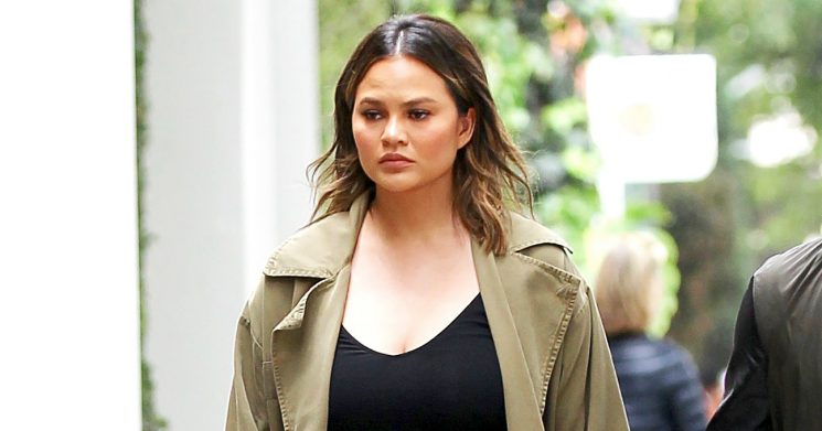 Chrissy Teigen Rips Man Who Took Pics of Her Pumping Breast Milk