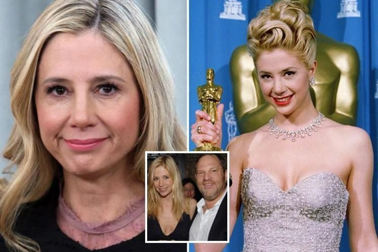 Harvey Weinstein accuser Mira Sorvino claims she was gagged with a CONDOM by another casting director when she was 16