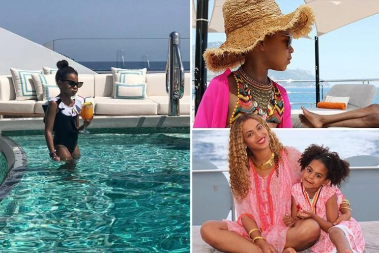 Blue Ivy, six, has her OWN personal stylist… as she shows off glam holiday wardrobe any adult would be jealous of