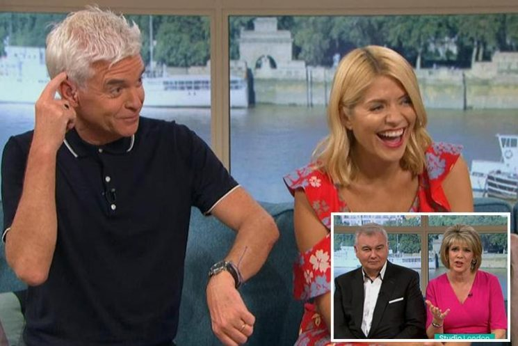 Holly Willoughby and Phillip Schofield replaced by Eamonn Holmes and Ruth Langsford for six weeks during Summer break on This Morning