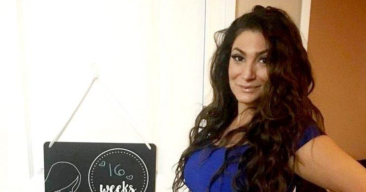 Deena Nicole Cortese Shows 16-Week Baby Bump