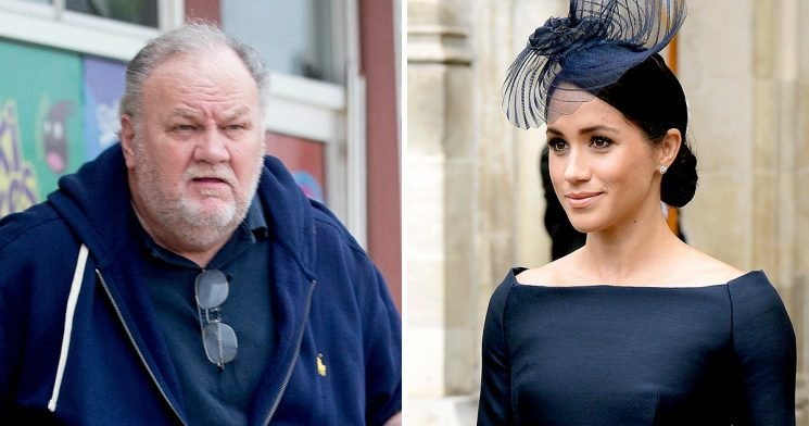 Meghan Markle's Dad Thinks She Is 'Under Too Much Pressure'