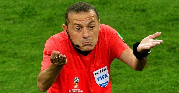 Why England fans want FIFA to investigate referee Cuneyt Cakir