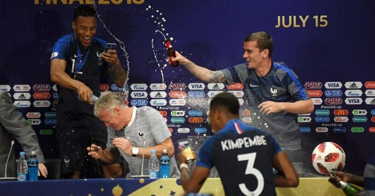 Inside France's celebrations after World Cup Final victory over Croatia