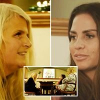 Katie Price gets reading from blind psychic who predicts she will have ANOTHER baby next year