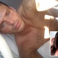 Lauren Goodger's jailbird boyfriend Joey Morrisson sends topless snaps to female admirers from his cell as he waits to be released