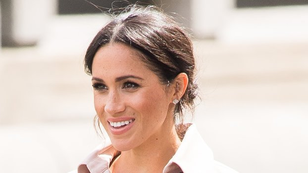 All the Hidden Messages in Meghan Markle's Blush Pink Trench Dress