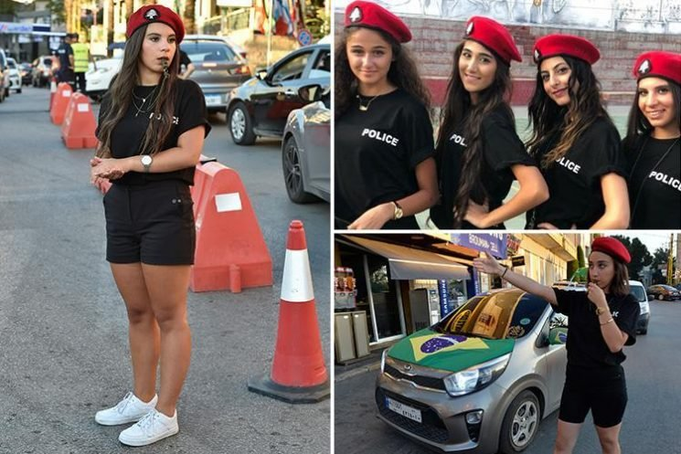 Lebanese mayor orders female cops to wear black MINI-SHORTS to entice more tourists to his town