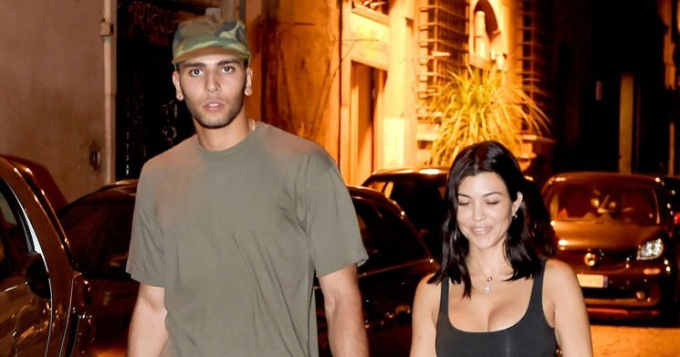 Kourtney Kardashian's BF Younes Bendjima's Comment Was a 'Joke'