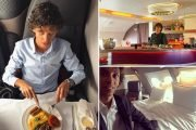This 21-year-old flies in first class for FREE - getting paid to test Champagne and sleep in posh sheets