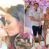 Sam Faiers kisses niece Nelly on her fourth birthday as mum Billie reveals snaps inside no expense spared fairy-themed party
