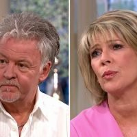 Ruth Langsford forced to apologise after drilling interrupts Paul Young's emotional interview about losing his wife to brain cancer