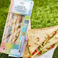 Marks & Spencer accused of exploiting LGBT culture by selling a 'rainbow' sandwich to mark Pride