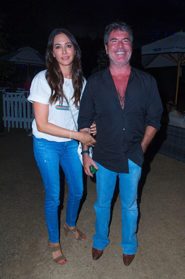 Simon Cowell shows off painful-looking sunburn on date night with girlfriend Lauren Silverman