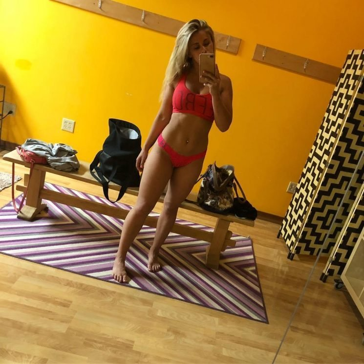 UFC star Paige VanZant heating up for MMA return with scorching Bikram yoga sessions