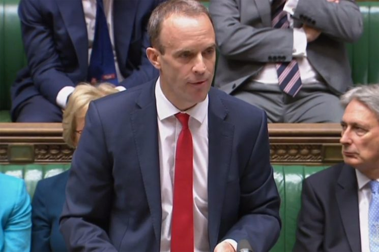 New Brexit Secretary Dominic Raab in Brussels for showdown with Michel Barnier as EU warns other nations to get ready for no-deal