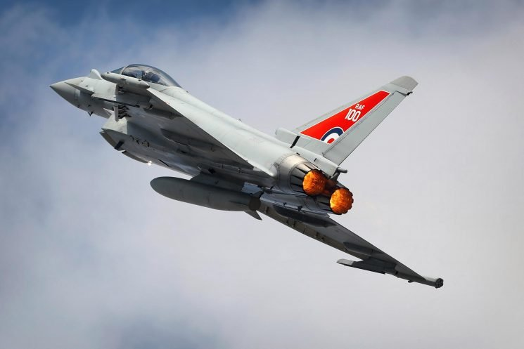 RAF Typhoons scrambled to intercept Russian bomber jet flying near Nato airspace above Black Sea