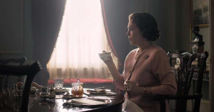 The Crown makers tease new series with snap of Olivia Colman as the Queen