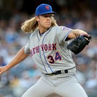 New York Mets star Noah Syndergaard told to keep away from team-mates after contracting hand, foot and mouth disease