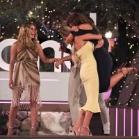 Love Island's Laura screams 'vagina' after accidentally kneeing Dani Dyer in her privates seconds after she won the show