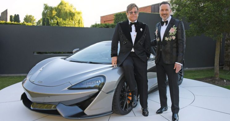 McLaren supercar donated to Elton John's AIDS charity sells for £725k at auction
