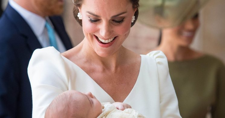 Kate makes nervous joke at Louis' christening – and all parents will relate