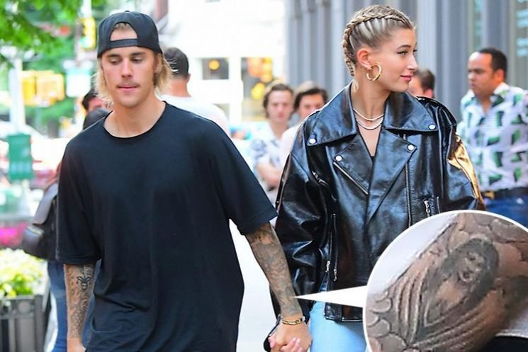 Justin Bieber makes appointment to cover up his huge tattoo of Selena Gomez and promises fiancée Hailey Baldwin it'll be gone by the wedding day