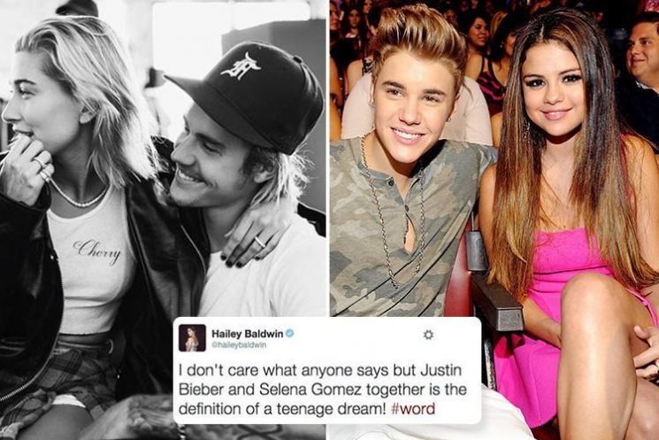 Newly engaged Hailey Baldwin declared Justin Bieber and Selena Gomez 'the definition of the teenage dream' in 2011 tweet dug up by fans