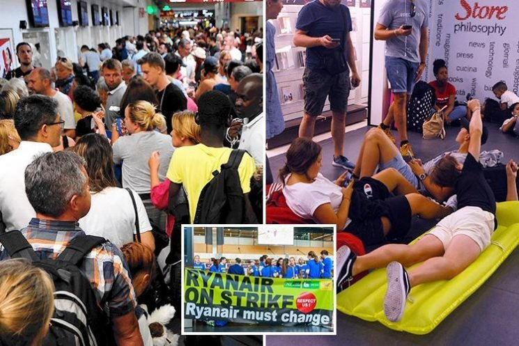 Passengers say Ryanair are STILL cancelling flights today just hours before take-off – while others are unable to get refunds or rebookings