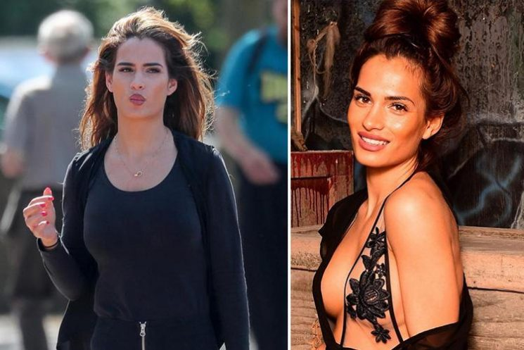 Ex on the Beach star Nicole Bass left 'scared and vulnerable' after burglars beheaded teddies and stole £31k Mercedes as she partied in Las Vegas