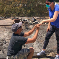 After Wildfire Destroys Newlyweds' Home, Husband Re-Proposes Using Wedding Ring Recovered From The Ashes