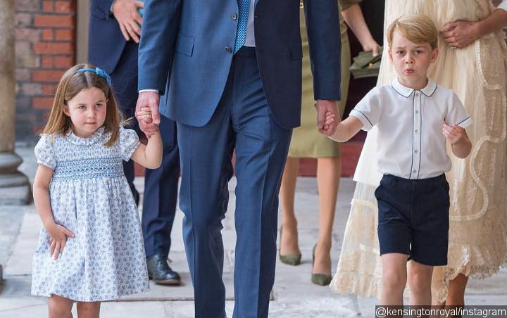 Princess Charlotte Cheekily Tells Photographers They're Not Invited to Brother's Christening Party
