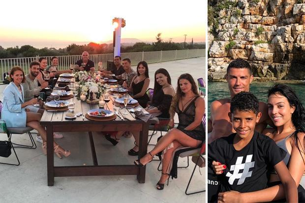 Cristiano Ronaldo leaves £17,850 tip for staff at luxury hotel in Greece before Juventus unveiling