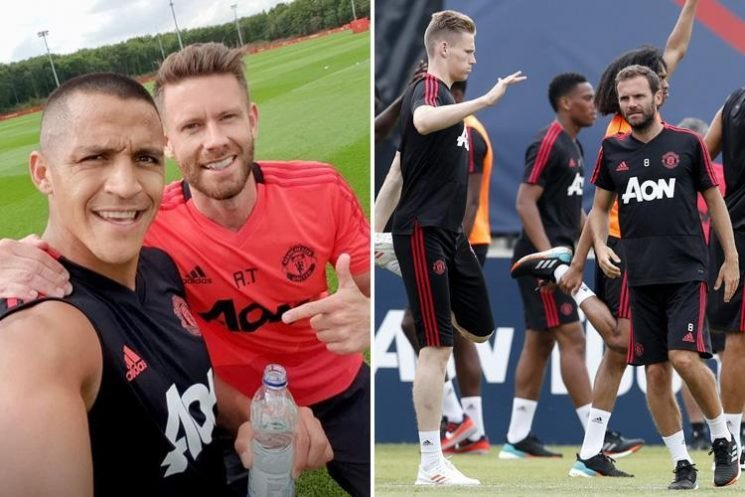 Alexis Sanchez flying out to LA to join Manchester United team-mates with visa nightmare over
