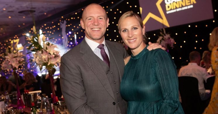 Mike Tindall: 'Zara almost ripped my head off giving birth to 9lb3oz baby'