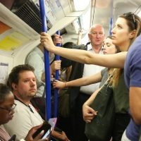 This is why the Tube is so hot and doesn't have air con despite 30C heatwave