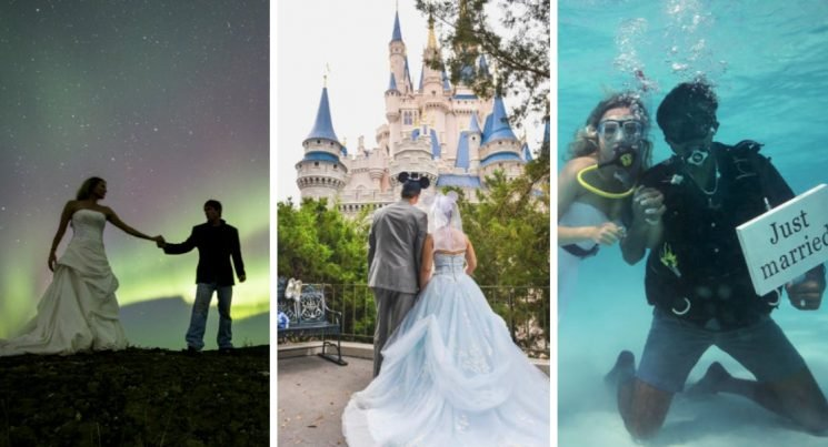 20 Unique Wedding Venues From Around The World Guests Will Never Forget