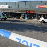 Stabbing victim stumbles into Iceland supermarket shouting for help