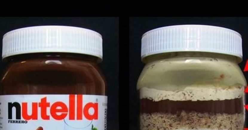 This is what's actually in a jar of Nutella – and there aren't many nuts