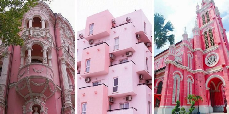 25 Buildings All Over The World That Are Pretty In Pink