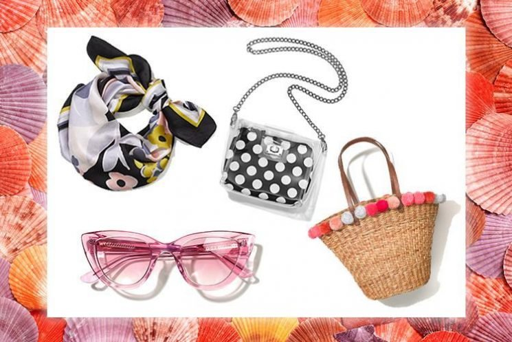 From cat-eye shades, to basket bags, these are summer's hottest style accessories