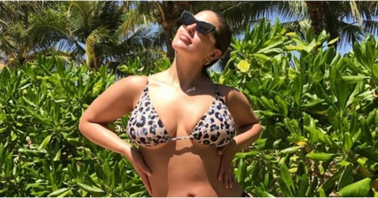 Someone Get Us a Cold Compress— Ashely Graham's Bikinigrams Are Too Effing Hot